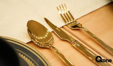 Makan Cantik Bersama OXONE Cutlery Set Ala Sultan